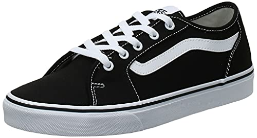 2072 1 vans damen filmore decon sneak | Vans Damen Filmore Decon Sneaker, Schwarz ((Canvas) Black/True White 1Wx), 40 EU