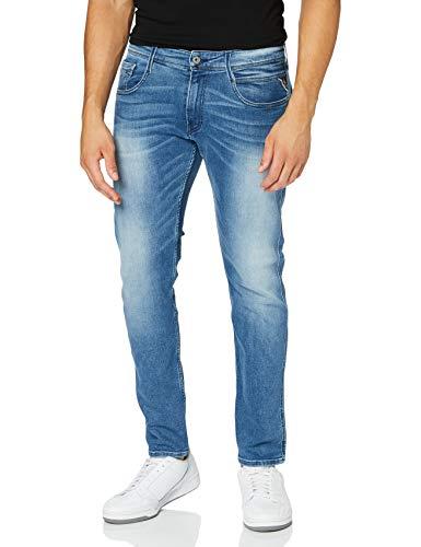 2163 1 replay herren anbass jeans bl   Replay Herren Anbass Jeans, Blue Denim, 38/34