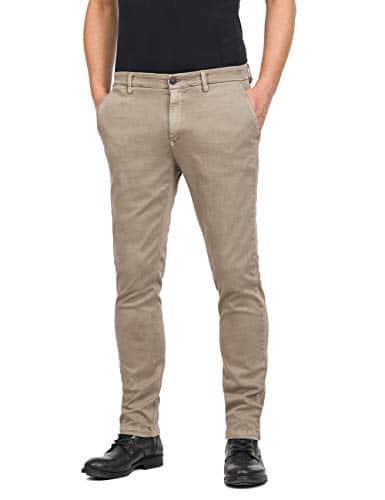 2165 1 replay herren zeumar slim jean   Replay Herren ZEUMAR Slim Jeans, Beige (Sand 20), W32/L32