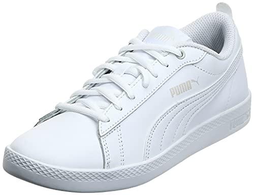 2194 1 puma damen smash wns v2 l zapa   PUMA Damen Smash WNS v2 L Zapatillas, Weiß White White, 38 EU