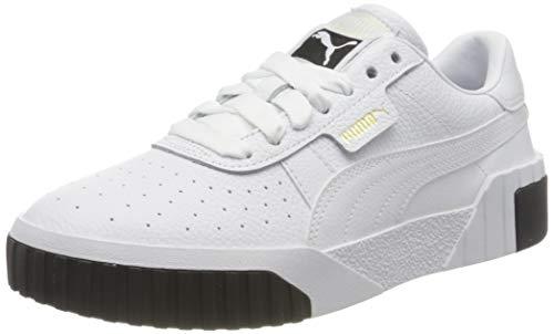 2197 1 puma damen cali wns sneaker | PUMA Damen Cali Wn's Sneaker, Weiß White Black, 39 EU
