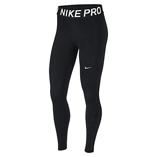 2264 1 nike damen w np tight sport tr   Nike Damen W NP Tight Sport Trousers, Black/(White), S