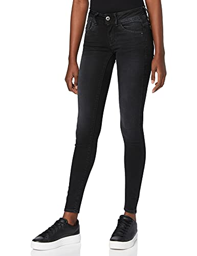 2352 1 g star raw damen lynn mid wais | G-STAR RAW Damen Lynn Mid Waist Super Skinny Jeans, Grau (Dusty Grey B732-A799), 27W / 30L