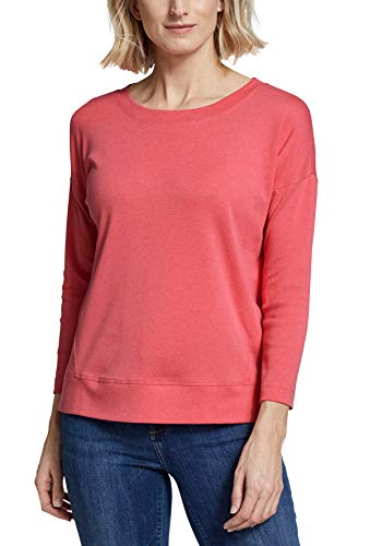 2407 1 eddie bauer damen favorite shi   Eddie Bauer Damen Favorite Shirt - 3/4-Arm, Gr. L (42/44), Mandarine Meliert