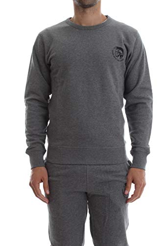 2433 1 diesel herren umlt willy sweat | Diesel Herren Umlt-willy Sweatshirt, Grau (Grey Mélange 96k-0cand), X-Small