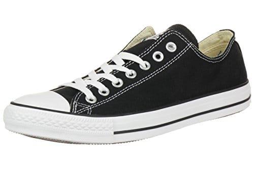 2463 1 converse unisex erwachsene con | CONVERSE Unisex-Erwachsene Converse All Star OX Black M91 Sneakers, Schwarz (Black/White), 43 EU