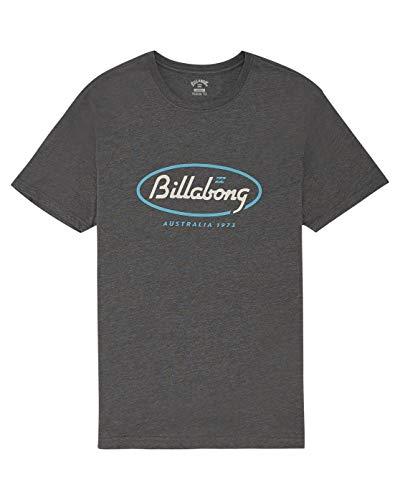 2577 1 billabong herren t shirt state   BILLABONG Herren T-Shirt State Beach Tee SS, Dark Heather, L, S1SS03