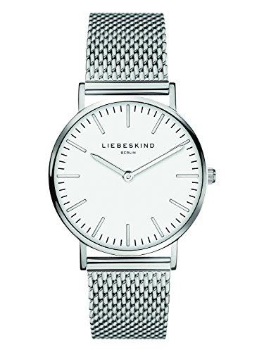 2760 1 liebeskind berlin damen analog | Liebeskind Berlin Damen Analog Quarz Armbanduhr mit Edelstahlarmband LT-0075-MQ