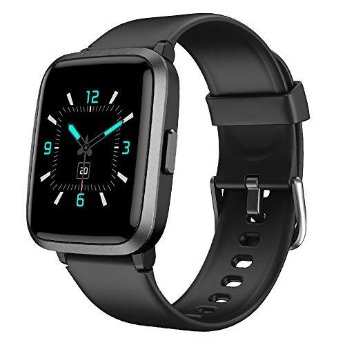 2781 1 yamay smartwatchfitness armba | YAMAY Smartwatch,Fitness Armbanduhr mit Blutdruck Messgeräte,Pulsoximeter,Pulsuhren Fitness Uhr Wasserdicht IP68 Fitness Tracker Schrittzähler Uhr für Damen Herren Smart Watch für iOS Android Handy