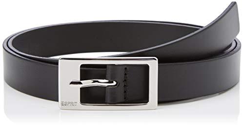 3140 1 esprit damen classic guertel | ESPRIT Damen Classic Gürtel, Schwarz (Black 001), 6661 (Herstellergröße: 100)
