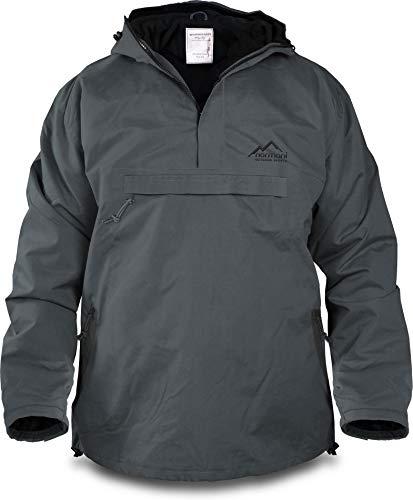 3778 1 normani winddichte funktions j   normani Winddichte Funktions-Jacke für Damen und Herren von S-4XL Farbe Anthrazit/Schwarz Größe XL