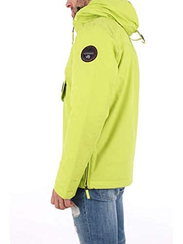1857 3 napapijri herren rainforest wi | Napapijri Herren Rainforest Winter 1 Jacke, Gelb (Yellow Lime YA2), (Herstellergröße:L)