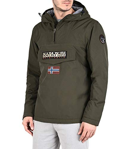 1873 3 napapijri herren rainforest wi | Napapijri Herren Rainforest Winter Jacke, Schwarz (Black 041), Small