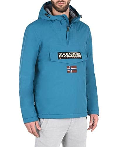 1873 4 napapijri herren rainforest wi | Napapijri Herren Rainforest Winter Jacke, Schwarz (Black 041), Small