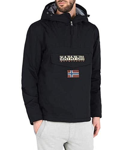 1873 5 napapijri herren rainforest wi | Napapijri Herren Rainforest Winter Jacke, Schwarz (Black 041), Small
