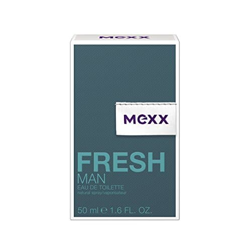1988 2 mexx fresh man eau de toil | Mexx Fresh Man – Eau de Toilette Natural Spray – Aromatisches Herren Parfüm mit holzigen Noten – 1 er Pack (1 x 50ml)