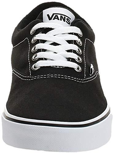 2070 2 vans herren doheny sneaker sc | Vans Herren Doheny Sneaker, Schwarz ((Canvas) Black/White 187), 42 EU
