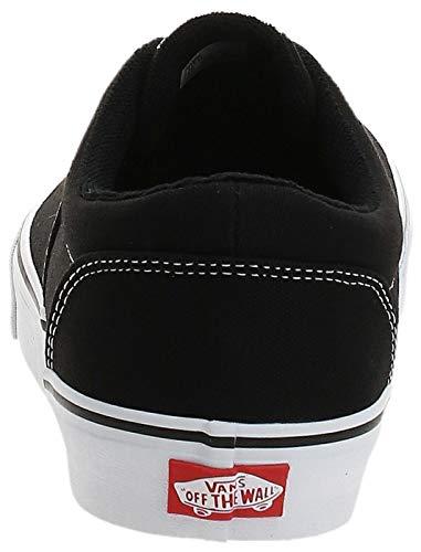 2070 3 vans herren doheny sneaker sc | Vans Herren Doheny Sneaker, Schwarz ((Canvas) Black/White 187), 42 EU
