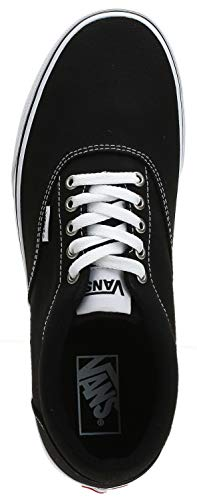 2070 5 vans herren doheny sneaker sc | Vans Herren Doheny Sneaker, Schwarz ((Canvas) Black/White 187), 42 EU