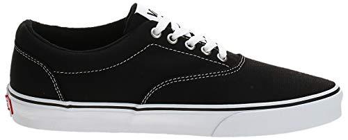 2070 6 vans herren doheny sneaker sc | Vans Herren Doheny Sneaker, Schwarz ((Canvas) Black/White 187), 42 EU
