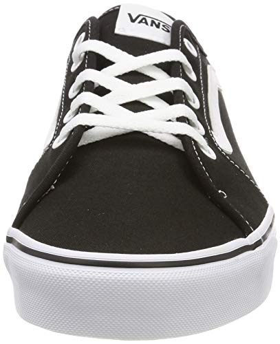 2072 2 vans damen filmore decon sneak | Vans Damen Filmore Decon Sneaker, Schwarz ((Canvas) Black/True White 1Wx), 40 EU