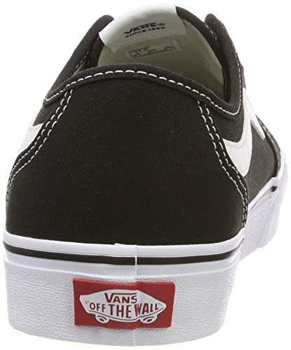 2072 3 vans damen filmore decon sneak | Vans Damen Filmore Decon Sneaker, Schwarz ((Canvas) Black/True White 1Wx), 40 EU