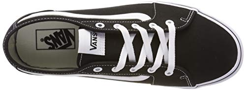 2072 5 vans damen filmore decon sneak | Vans Damen Filmore Decon Sneaker, Schwarz ((Canvas) Black/True White 1Wx), 40 EU