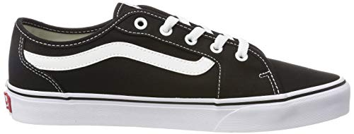 2072 6 vans damen filmore decon sneak | Vans Damen Filmore Decon Sneaker, Schwarz ((Canvas) Black/True White 1Wx), 40 EU