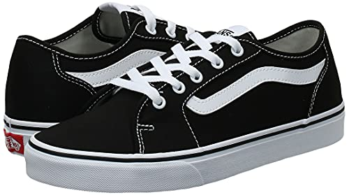 2072 7 vans damen filmore decon sneak | Vans Damen Filmore Decon Sneaker, Schwarz ((Canvas) Black/True White 1Wx), 40 EU