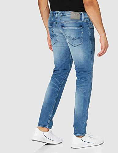 2163 3 replay herren anbass jeans bl   Replay Herren Anbass Jeans, Blue Denim, 38/34