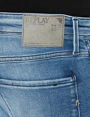 2163 4 replay herren anbass jeans bl   Replay Herren Anbass Jeans, Blue Denim, 38/34