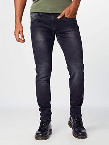 2167 2 replay herren anbass slim jean | Replay Herren Anbass Slim Jeans, Grau (Dark Grey 097), W31/L30 (Herstellergröße: 31)