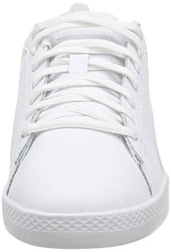 2194 2 puma damen smash wns v2 l zapa   PUMA Damen Smash WNS v2 L Zapatillas, Weiß White White, 38 EU