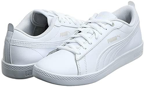 2194 7 puma damen smash wns v2 l zapa   PUMA Damen Smash WNS v2 L Zapatillas, Weiß White White, 38 EU