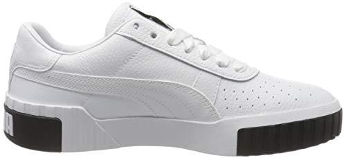 2197 6 puma damen cali wns sneaker | PUMA Damen Cali Wn's Sneaker, Weiß White Black, 39 EU