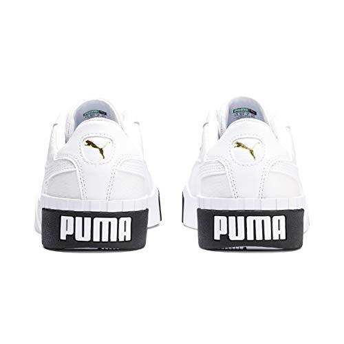 2197 7 puma damen cali wns sneaker | PUMA Damen Cali Wn's Sneaker, Weiß White Black, 39 EU