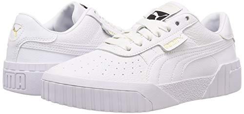 2198 13 puma damen cali wns sneaker   PUMA Damen Cali Wn's Sneaker, Weiß White White, 38.5 EU
