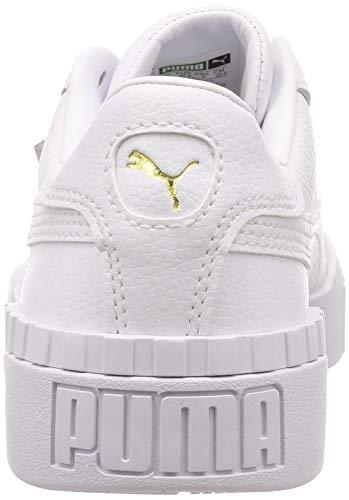 2198 3 puma damen cali wns sneaker | PUMA Damen Cali Wn's Sneaker, Weiß White White, 38.5 EU
