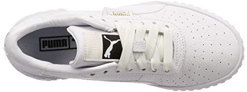 2198 5 puma damen cali wns sneaker   PUMA Damen Cali Wn's Sneaker, Weiß White White, 38.5 EU
