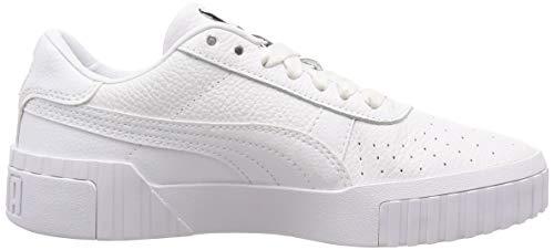 2198 6 puma damen cali wns sneaker | PUMA Damen Cali Wn's Sneaker, Weiß White White, 38.5 EU