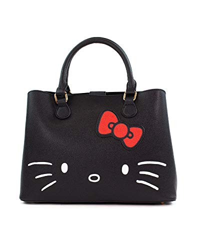 2271 3 hello kitty shopper bag with | Hello Kitty - Shopper Bag With Debossing And Print Multicolor