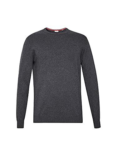 2380 4 esprit herren 999ee2i803 pullo | ESPRIT Herren 999Ee2I803 Pullover, Grau (Dark Grey 020), Medium (Herstellergröße: M)