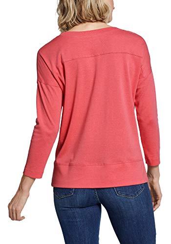 2407 2 eddie bauer damen favorite shi   Eddie Bauer Damen Favorite Shirt - 3/4-Arm, Gr. L (42/44), Mandarine Meliert