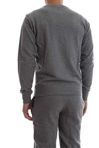 2433 5 diesel herren umlt willy sweat | Diesel Herren Umlt-willy Sweatshirt, Grau (Grey Mélange 96k-0cand), X-Small