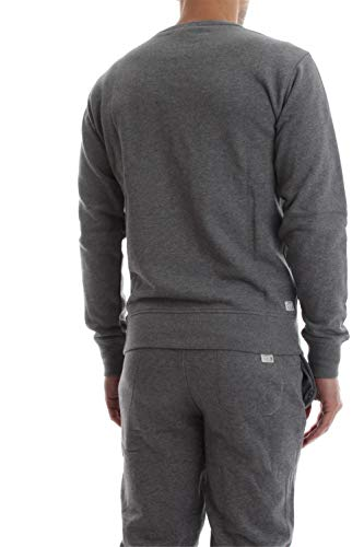 2433 6 diesel herren umlt willy sweat | Diesel Herren Umlt-willy Sweatshirt, Grau (Grey Mélange 96k-0cand), X-Small