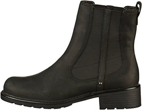 2502 2 clarks damen orinoco club kurz | Clarks Damen Orinoco Club Kurzschaft Stiefel, Schwarz (Black Leather), 41 EU