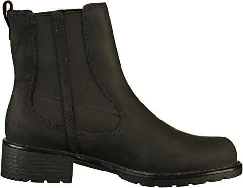 2502 3 clarks damen orinoco club kurz | Clarks Damen Orinoco Club Kurzschaft Stiefel, Schwarz (Black Leather), 41 EU