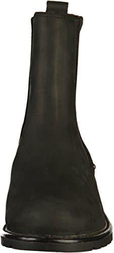 2502 4 clarks damen orinoco club kurz | Clarks Damen Orinoco Club Kurzschaft Stiefel, Schwarz (Black Leather), 41 EU