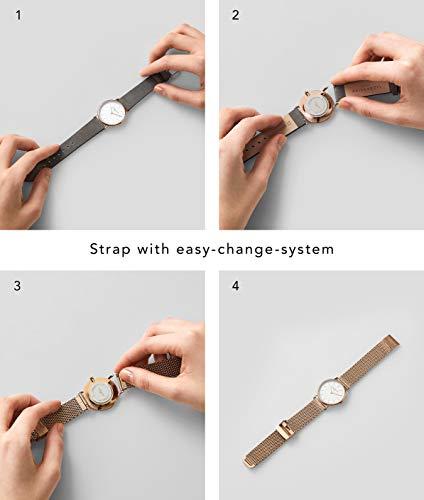 2759 6 liebeskind berlin damen analog   Liebeskind Berlin Damen Analog Quarz Armbanduhr mit Edelstahlarmband LT-0155-MQ