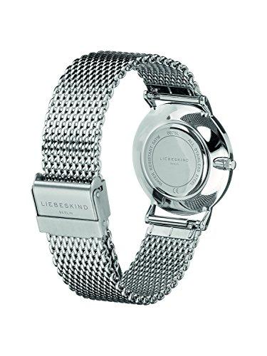 2760 3 liebeskind berlin damen analog | Liebeskind Berlin Damen Analog Quarz Armbanduhr mit Edelstahlarmband LT-0075-MQ